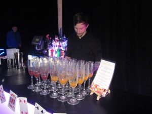 Cocktail and Casino night event hire service