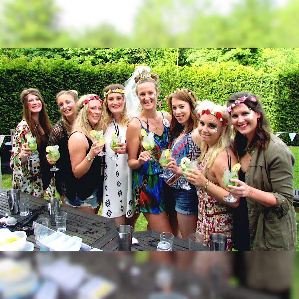 Hen Party In Derbyshire