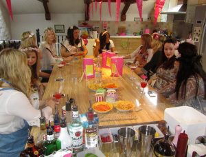 Hen Party Cocktail Making