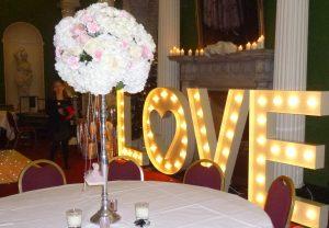 Wedding Large 'Love' Sign