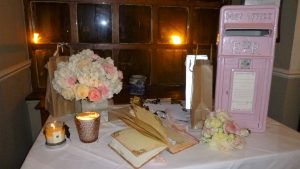 Vintage Style Wedding Card Post Box