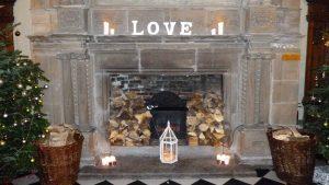 Amazing venue Decor at Hazelwood Castle