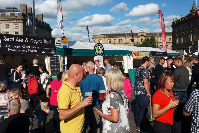 Real Ales at Huddersfield Food and Drink Festival