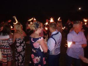 Sparklers to celebrate