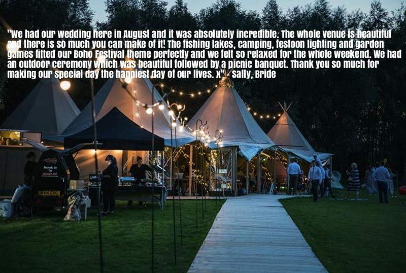 Testimonial from a previous Bride
